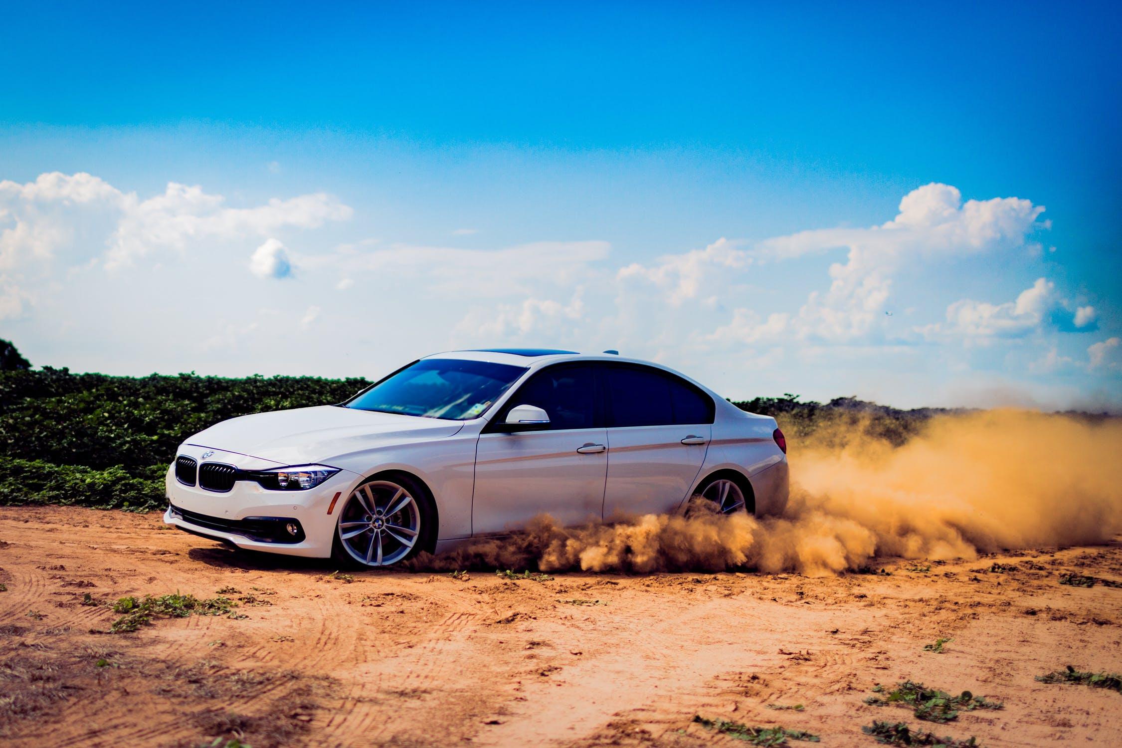 Hvid BMW